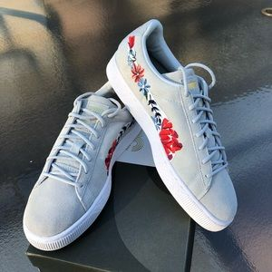 🆕Puma Suede Embroidered Casual Shoes
